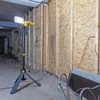 Proiettore LED integrato Peri in policarbonato, nero, 35W 3200LM IP54 LUTEC