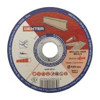 Disco in carburo DEXTER per metallo Ø 125 mm
