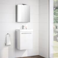Mobile bagno Remix bianco L 45 cm
