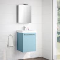 Mobile bagno Remix azzurro L 45 cm