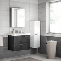Mobile bagno Remix grigio londra L 75 cm