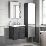 Mobile bagno Remix grigio londra L 60 cm