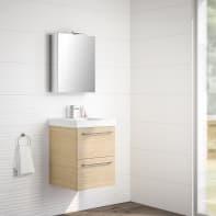 Mobile bagno Remix rovere chiaro L 45 cm