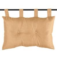 Cuscino testata letto Testata letto Bea senape 45x70 cm