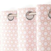 Tenda Rolli rosa occhielli 140 x 260 cm