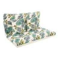 Cuscino da esterno BRASILE multicolore 120 x 80 x Sp 80 cm , 4 pezzi