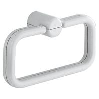 Porta salviette ad anello 2900 bianco cromato L 24.5 cm