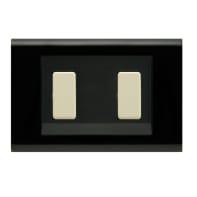 Placca Laser FEB 2 moduli nero