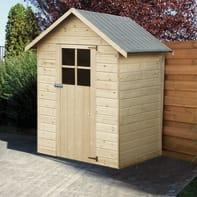Casetta da giardino in legno Tulipano 2.02 m² spessore 12 mm