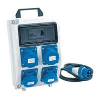 Quadro elettrico completo ASC portatile 4 CEE