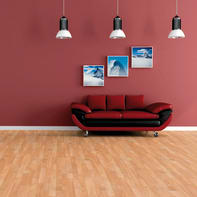 Pavimento laminato Basic 3S Sp 6 mm marrone