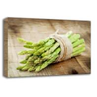 Quadro in legno Asparagus 35x50 cm