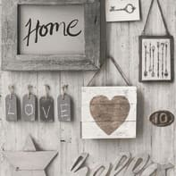 Carta da parati Sweet Home grigio