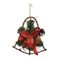 Fuoriporta Campana in legno H 25 cm, L 18 cm  x P 1 cm