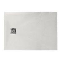 Piatto doccia resina Fusion 90 x 70 cm bianco