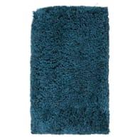 Tappeto Fluffy , blu, 60x100 cm