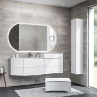 Mobile bagno Soho bianco L 150 cm