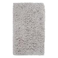 Tappeto Fluffy , grigio, 45x70 cm