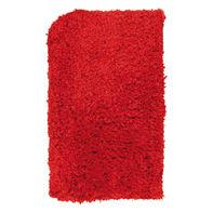 Tappeto Fluffy , rosso, 45x70 cm