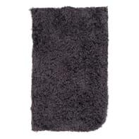 Tappeto Fluffy , grigio scuro, 45x70 cm