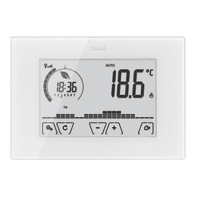 Termostato VIMAR Touch screen WiFi 02907 bianco