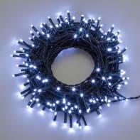 Catena luminosa 750 lampadine LED bianco freddo 400 cm