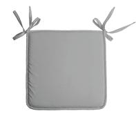 Cuscino per sedia Nelson grigio 38x38 cm