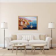 Dipinto su tela Paesaggio 96.6x126.6 cm