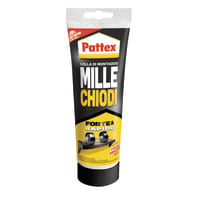 Colla Millechiodi Forte&Rapido PATTEX bianco 250