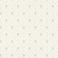 Carta da parati Geometrico bianco e beige