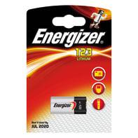 Batteria al litio CR123 ENERGIZER Fotocine 1 batteria