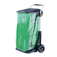 Pattumiera Carry Cart manuale multicolor 110 L