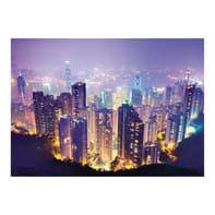 Quadro su tela City night 100x140 cm
