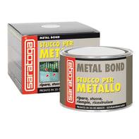 Stucco di riparazione metallo SARATOGA Fiber Bond per vetroresina 500 ml