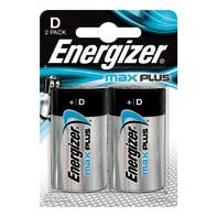 Pila LR20 D ENERGIZER Max Plus 2 batterie