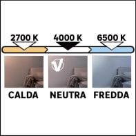 Tubo Fluorescente a doppio attacco Fluo Osram 3350 LM bianco freddo L 120 cm
