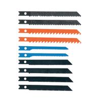 Lama per seghetto alternativo in acciaio L 65 mm 10 pezzi