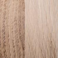Piano cucina in legno rovere L 245 x P 63 cm, spessore 3.8 cm