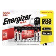 Pila alcalina AA ENERGIZER 12 batterie