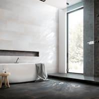 Mosaico Metallic Noir H 30 x L 30 cm nero