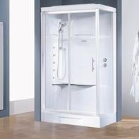 Cabina doccia idromassaggio rettangolare CAYENNE 70 x 100 cm