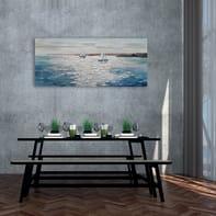 Dipinto originale Molo 65x150 cm