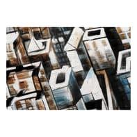 Dipinto originale Città 100x100 cm