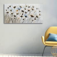 Dipinto originale Fiori 60x120 cm