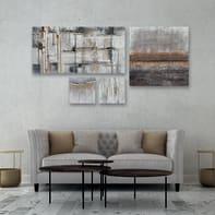 Dipinto originale Astrat 60x120 cm