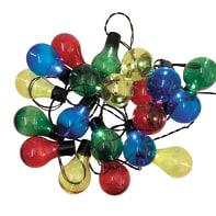 Catena luminosa 20 lampadine LED multicolore