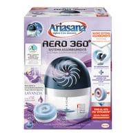 Kit assorbiumidità e ricarica HENKEL Ariasana kit aero 360°  lavanda 450g