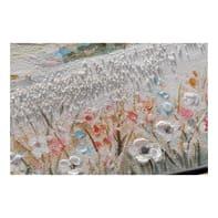 Quadro dipinto a mano Mare 30x90 cm