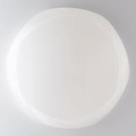 Plafoniera moderno Psyche LED integrato bianco, in acrilico,  D. 80 cm
