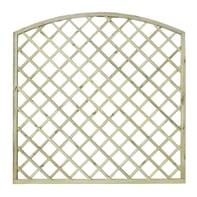 Pannello reticolato in legno Diagonale arco 180 x 180 cm
